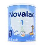 NOVALAC LAIT 1 BOITE 800G à Marseille