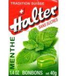 Bonbons sans sucre Halter menthe à Marseille