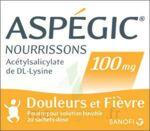 ASPEGIC NOURRISSONS 100 mg, poudre pour solution buvable en sachet-dose à Marseille