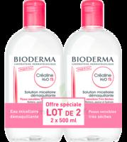 CREALINE TS H2O Solution micellaire sans parfum nettoyante apaisante 2Fl/500ml à Marseille