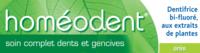 Boiron Homéodent Soin Complet Dents et Gencives Pâte Dentifrice Anis T/75ml à Marseille