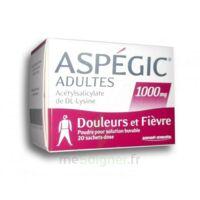 ASPEGIC ADULTES 1000 mg, poudre pour solution buvable en sachet-dose 20 à Marseille