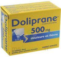 DOLIPRANE 500 mg Poudre pour solution buvable en sachet-dose B/12 à Marseille