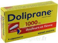 DOLIPRANE 1000 mg Suppositoires adulte 2Plq/4 (8) à Marseille