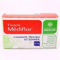 Mediflor N°14 Calmante - Trouble Du Sommeil, Mélange De Plantes Pour Tisane En Sachet-dose à Marseille