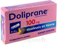 DOLIPRANE 100 mg Suppositoires sécables 2Plq/5 (10) à Marseille
