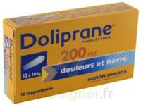 Doliprane 200 Mg Suppositoires 2plq/5 (10) à Marseille