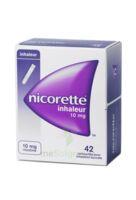 NICORETTE INHALEUR 10 mg Cartouche p inh bucc inhalation buccale B/42 à Marseille