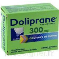 DOLIPRANE 300 mg Poudre pour solution buvable en sachet-dose B/12 à Marseille