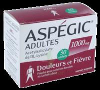 ASPEGIC ADULTES 1000 mg, poudre pour solution buvable en sachet-dose 30 à Marseille