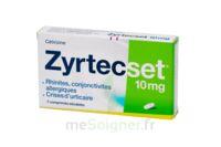 ZYRTECSET 10 mg, comprimé pelliculé sécable à Marseille