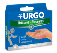 URGO BRULURES-BLESSURES PETIT FORMAT x 6 à Marseille
