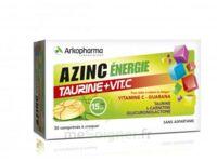 Azinc Energie Taurine + Vitamine C Comprimés à croquer dès 15 ans B/30 à Marseille