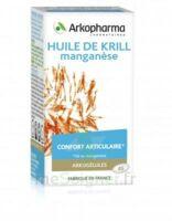 Arkogélules Huile De Krill Manganèse Caps Fl/45 à Marseille