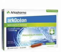Arkocean Magnesium Marin Solution Buvable Caramel 20 Ampoules/10ml à Marseille