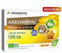 Arkoroyal Gelée Royale Bio Sans Sucre 1500mg Solution Buvable 20 Ampoules/10ml à Marseille