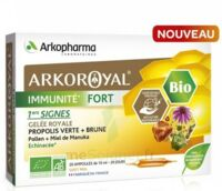 Arkoroyal Immunité Fort Solution buvable 20 Ampoules/10ml à Marseille