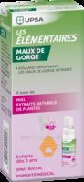 Les Elementaires Spray Buccal Maux De Gorge Enfant Fl/20ml à Marseille
