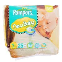 PAMPERS COUCHES NEW BABY TAILLE 1 2-5 KG x 25 à Marseille