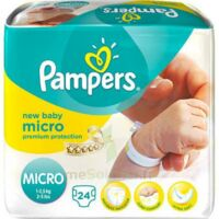 PAMPERS COUCHES NEW BABY MICRO 1-2,5 KG x 24 à Marseille