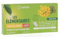 Les Elémentaires Sans Sucre Pastilles Maux De Gorge Aigus Menthe B/20 à Marseille