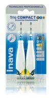 Inava Brossettes Tri Compact étroit  012 Noir 0,6mm/ Bleu 0,8mm/ Jaune 1mm à Marseille