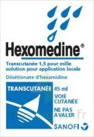 HEXOMEDINE TRANSCUTANEE 1,5 POUR MILLE, solution pour application locale