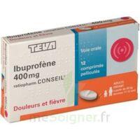 IBUPROFENE TEVA CONSEIL 400 mg, comprimé pelliculé à Marseille