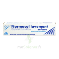 NORMACOL LAVEMENT ENFANTS, solution rectale, récipient unidose à Marseille
