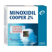 MINOXIDIL COOPER 2 %, solution pour application cutanée en flacon à Marseille