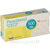 PARACETAMOL TEVA 500 mg, comprimé à Marseille
