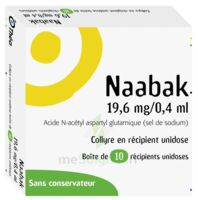 NAABAK 19,6 mg/0,4 ml Collyre en récipient unidose 10Unidoses à Marseille