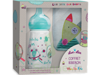 "Coffret biberon 270 ml + Bavoir ""collection capsule Moulin Roty"" à Marseille"