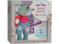 "Coffret Doudou + Sucette 0-6 mois""collection capsule Moulin Roty"" à Marseille"