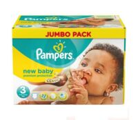 PAMPERS COUCHES NEW BABY 5-9KG 99 COUCHES à Marseille
