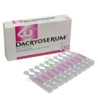 DACRYOSERUM Solution pour lavage ophtalmique en récipient unidose 20Unidoses/5ml à Marseille