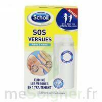 Scholl SOS Verrues traitement pieds et mains à Marseille