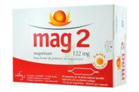 MAG 2 122 mg S buv en ampoule sans sucre édulcoré à la saccharine sodique 30Amp/10ml à Marseille