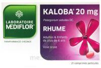 KALOBA 20 mg Cpr pell Plq/21 à Marseille