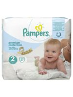 Pampers couches new baby sensitive taille 2 - 27 couches à Marseille