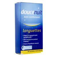 DOUCENUIT ANTIRONFLEMENT LANGUETTES, sachet 28 à Marseille