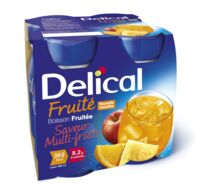 DELICAL BOISSON FRUITEE Nutriment multi fruits 4Bouteilles/200ml à Marseille
