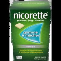 NICORETTE 2 mg Gom à mâcher médic sans sucre menthe fraîche Plq/105gom à Marseille