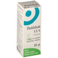 FLUIDABAK 1,5 %, collyre en solution à Marseille