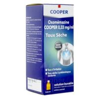OXOMEMAZINE H3 SANTE 0,33 mg/ml SANS SUCRE, solution buvable édulcorée à l'acésulfame potassique à Marseille