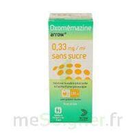 OXOMEMAZINE ARROW 0,33 mg/ml SANS SUCRE, solution buvable édulcorée à l'acésulfame potassique à Marseille