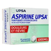 ASPIRINE UPSA TAMPONNEE EFFERVESCENTE 1000 mg, comprimé effervescent à Marseille