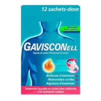 GAVISCONELL Suspension buvable sachet-dose menthe sans sucre 12Sach/10ml à Marseille