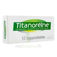 Titanoreine Suppositoires B/12 à Marseille