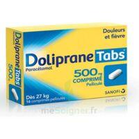 DOLIPRANETABS 500 mg Comprimés pelliculés Plq/16